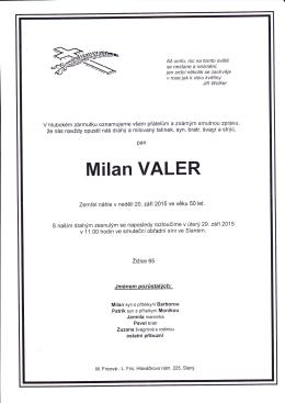Milan VALER