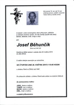 23.5.2015 Josef Běhunčík - Štítná nad Vláří