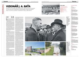 Velké téma o odkazu J. A. Bati v Hospodářských