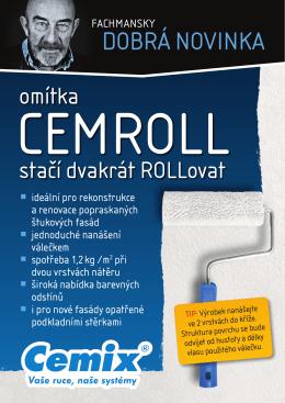 Omítky Cemroll