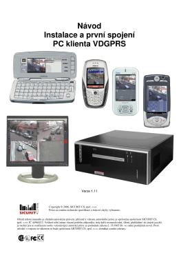 VDGPRS - Sicurit Milano HomePage - VDR