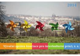 Výroční zpráva Asociace pro interkulturní práci, z.s. 2014