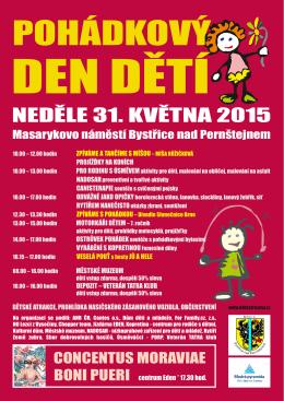 Den dětí 2015 program - Kulturní dům