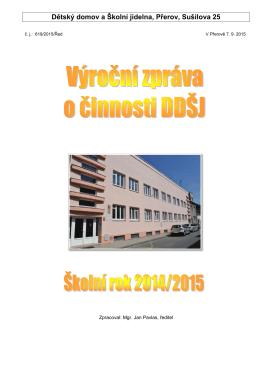 Dětský domov a Školní jídelna, Přerov, Sušilova 25