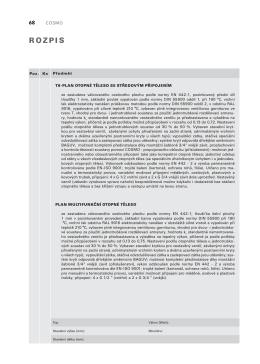 Stručný popis výrobku - desková otopná tělesa