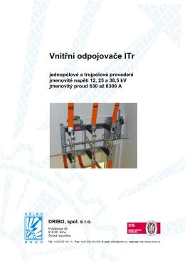 odpojovače řady ITr