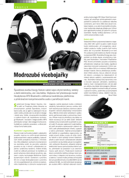 Recenze BT9 ve Stereo & Video 5/2015