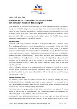 Otevření nové prodejny dm v ČR - dm drogerie markt Česká republika