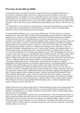 Prevence úrazů dětí na hřišti (NKCPÚ)