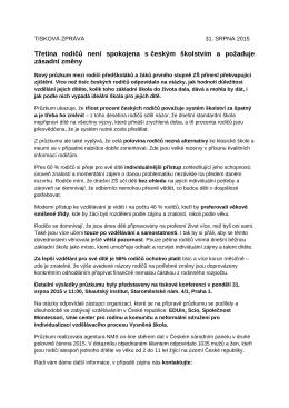 Tisková zpráva PDF