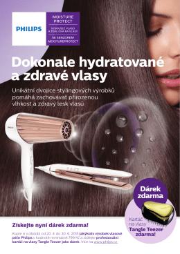Dokonale hydratované a zdravé vlasy