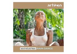Brožurka produktů Artégo Rain Dance