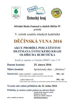 propozice - Střední škola řemesel a služeb Děčín