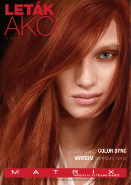 VAVOOM atraktivní cena kouzlo barev COLOR SYNC