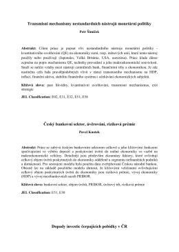 Abstrakty časopisu B&IT 2/2013 v českém jazyce najdete zde.