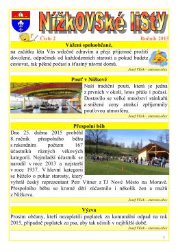 Nížkovské listy 2_2015