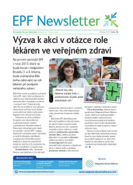 Vy´ zva k akci v otázce role lékáren ve verejném zdraví