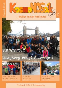 REPORTÁŽ Jazykový pobyt v Londýně