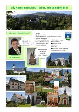 Bílý Kostel nad Nisou – Obec, kde se dobře žije!