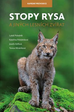 Stopy rysa a jiných lesních zvířat