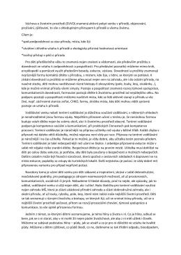 Výchova o životním prostředí (EVVO)