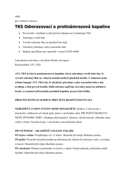 AVL-TKS instrukce CZ - for