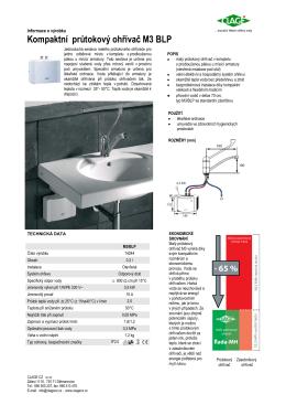 Informace o výrobku