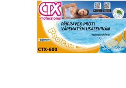 CTX-600 Přípravek proti vápenatým usazeninám »221.3