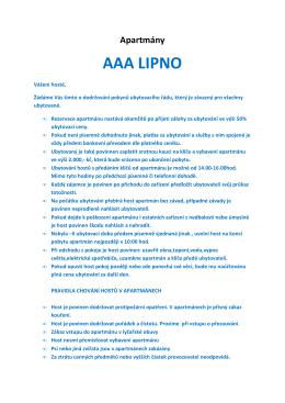 zde - AAAlipno.cz