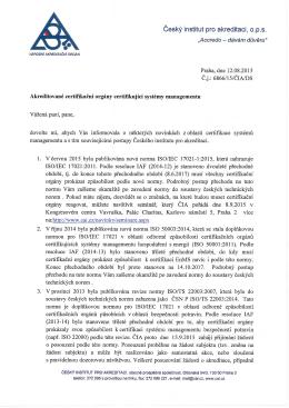 zde - Český institut pro akreditaci, ops