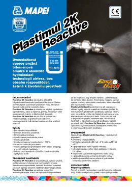 Plastimul 2K Reactive Plastimul 2K Reactive