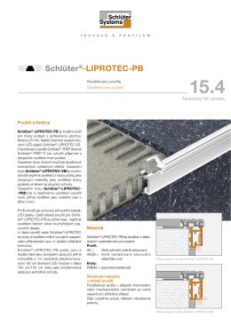 Schlüter®-LIPROTEC-PB - Schlüter
