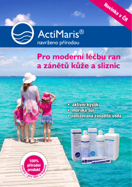 Brožura ActiMaris 2015