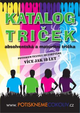 katalog-tricek - ALFA Reklama