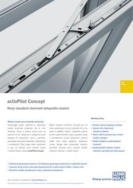 activPilot Concept - technický list A4