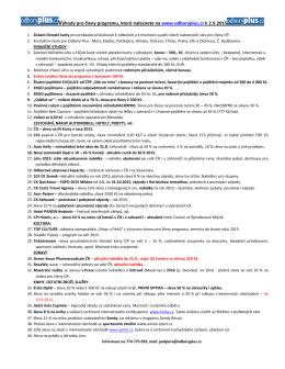 OP k 2.9.2015 - Odborové sdružení Precheza