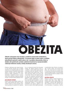 Obezita je důvod proč zhubnout. Článek publikovaný v časopisu