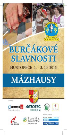 mazhausy 2015.indd - Burčákové slavnosti