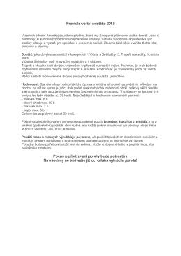 Pravidla vařící soutěže 2015 Pokus o přiotrávení poroty