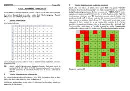EU-OPVK-ICT-INFO-18 - Excel – podmíněné formátování