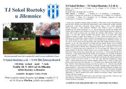 Bulletin 20.9.2015 Roztoky-Železný Brod B