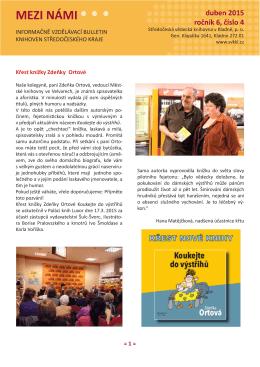 Bulletin-4-2015 - Středočeská vědecká knihovna v Kladně