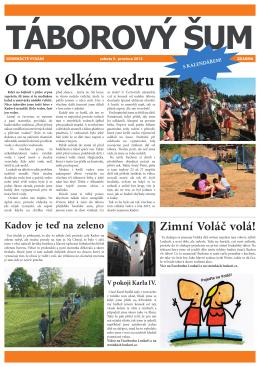 ŠUM - loukari.cz