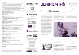 Festivalový deník 5. / 9. května 2015