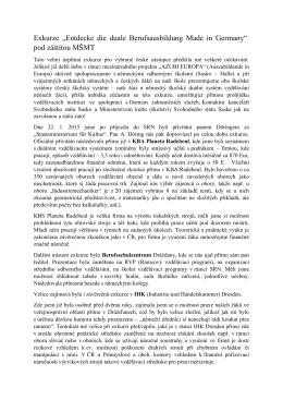 Celá zpráva - SOŠ Drtinova