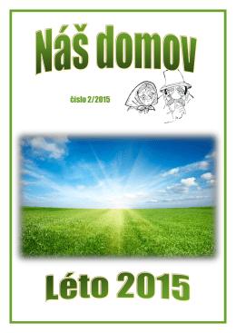 číslo 2/2015 - Domov pro seniory Heřmanův Městec