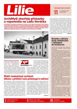 ArchiMyšl otevřela přístavbu a vzpomněla na Láďu Horáčka Řidiči