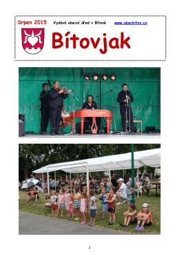Srpen 2015 - Obec Bítov