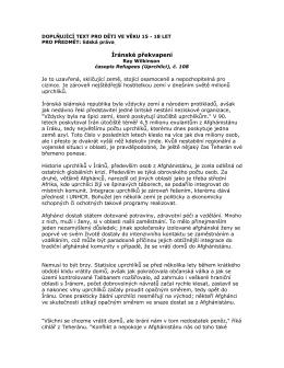 Íránské překvapení - UNHCR Central Europe website!