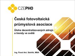 01_CZEPHO_Úloha decentralizovaných zdrojů a trendy ve světě